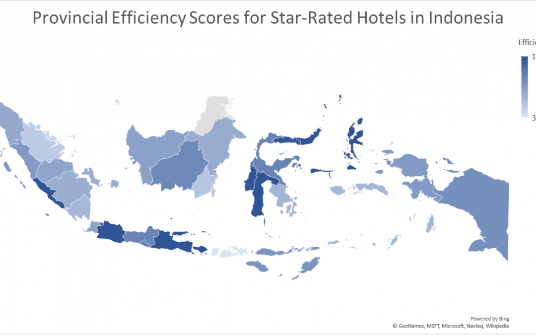 Star-Rated Hotel Efficiency In Indonesia: A Provincial Analysis Using the Data Envelopment Analysis (DEA) Technique